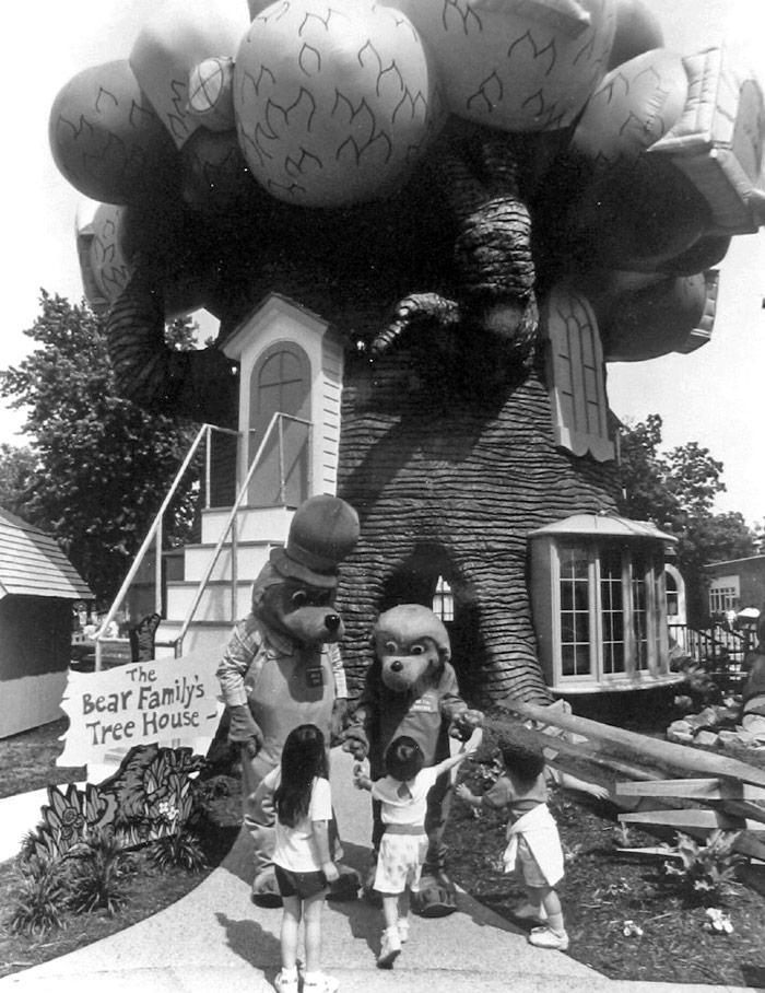 Berenstain Bears at Cedar Point