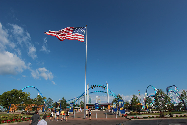 Cedar Point Armed Forces Weekend