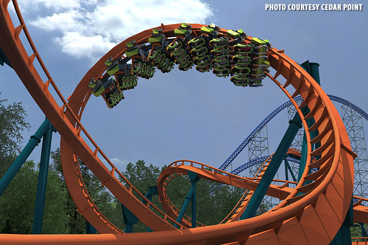 Rougarou - New for 2015 at Cedar Point