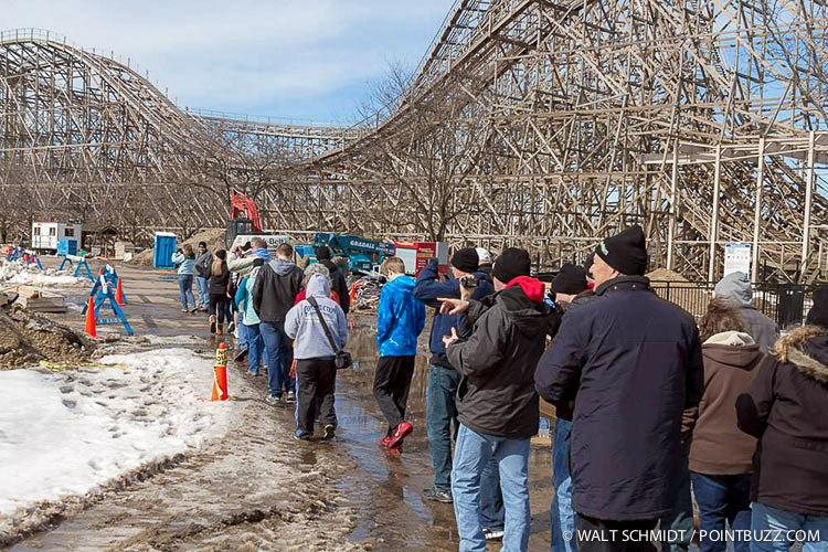 Cedar Point Winter Chill Out 2014